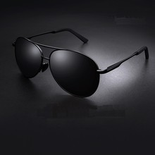 Aviation Metail Frame Polarized Sunglasses Men Color Changing Sun Glasses  Pilot Male Day Night Visi