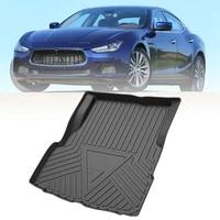trunk mat for maserati ghibli levante for infiniti qx30 qx50 tpe custom cargo liner trunk mat laser measured floor pad rubber