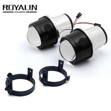 ROYALIN bi-xénon antibrouillard lentille de projecteur pour Mazda 3 6 CX5 Axela Atenza 2.5 'plein métal H11 HID ampoules voiture style 4300K 5000K