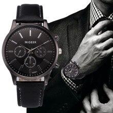 New Retro Design Leather Band Analog Alloy Quartz Wrist Watch 2021 Men Часы Женские New 2