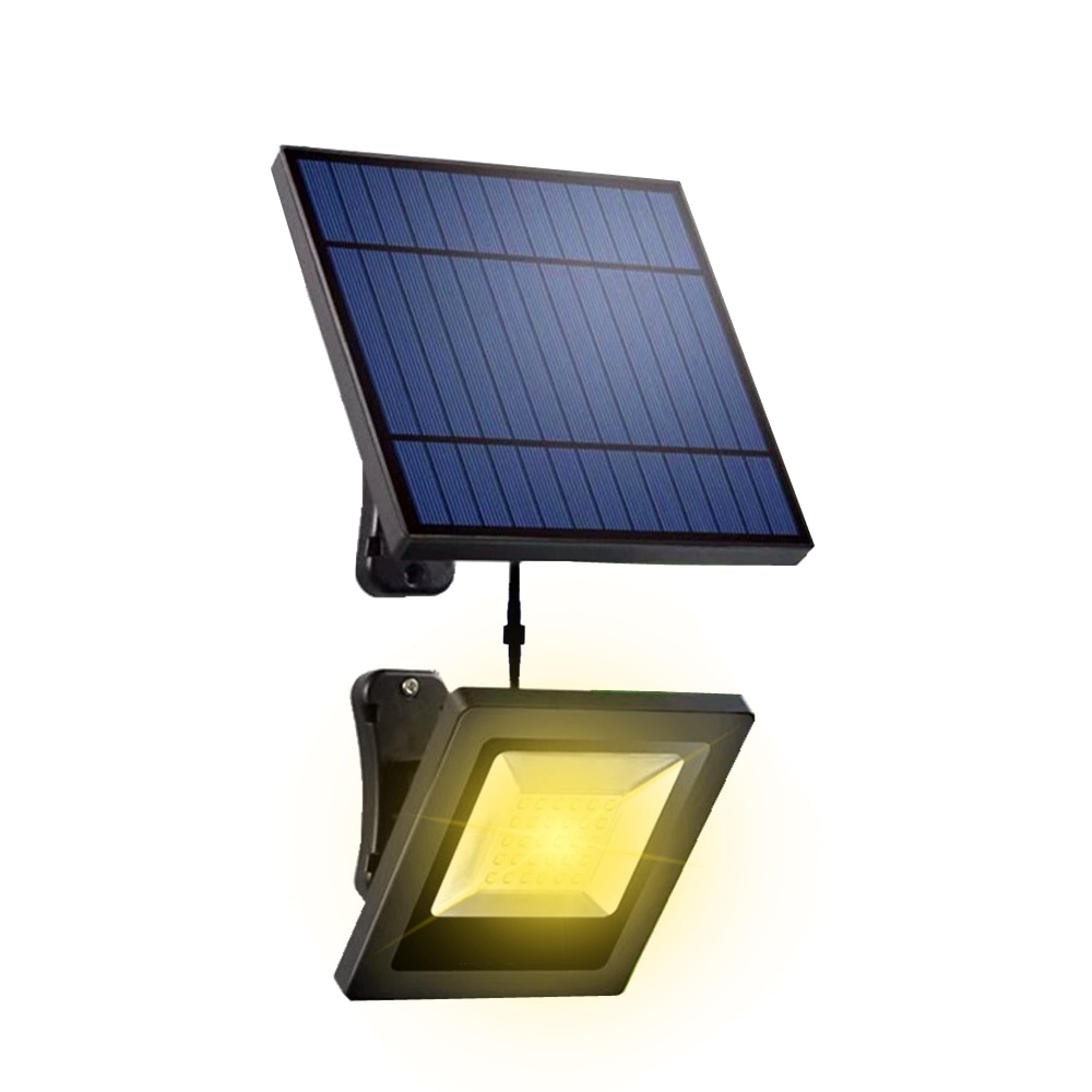 Separate Solar Lights LED With Separable Solar Panel 5M Cord Floodlight Indoor Solar Lamp Garden Wall Underground Solar Lighting
