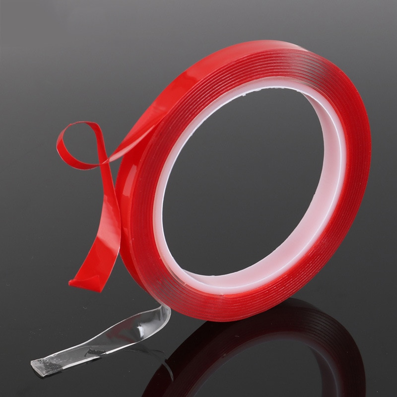 Double-sided Length 3M Width 6/8/10/12/15/20MM Strong Clear Transparent Acrylic Foam Adhesive Tapedo