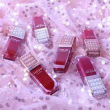 HOJO marque perle sur la paume velours facile à colorer rouge à lèvres mat visage hydratant lèvres glaçure maquillage