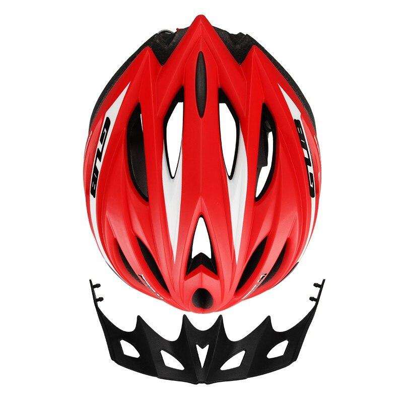 La bicicleta profesional de ciclismo cascos ultraligero 21 ventilación bicicleta de montaña ciclismo carretera sombrilla transpirable portátil cascos 77