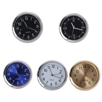 universal car clock stick on electronic watch dashboard noctilucent decoration for suv cars p82b