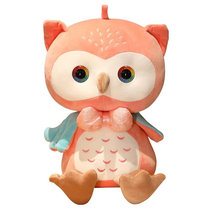 13-38 см мультяшная имитация Совы плюшевая игрушка лес животное Орл Плюшевые игрушки Детский Рождественский подарок Плюшевые игрушки