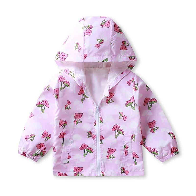 ZWY1233 ملابس الأطفال الكرتون سترة الخريف معطف جديد بيبي بوي فتاة نزهة الملابس سترة الأطفال سستة سترة سترة