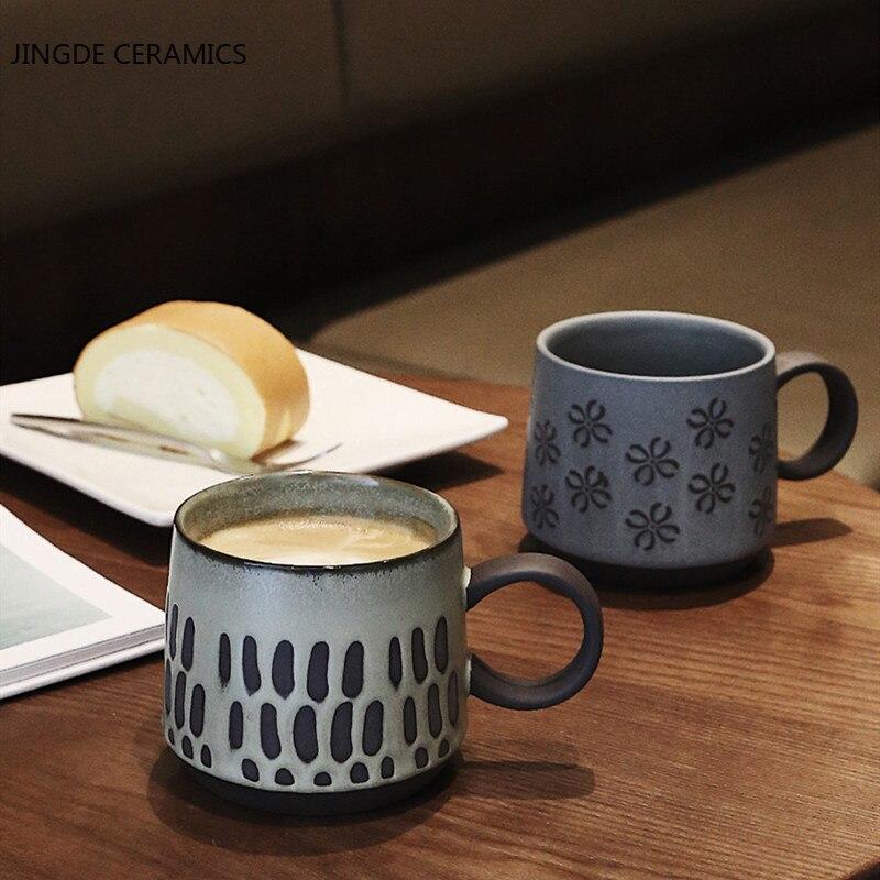 1 قطعة السيراميك بعد الظهر الشاي القهوة كوب النمط الياباني الإفطار الحليب الفاكهة أكواب عصير مكتب أكواب مياه المشروبات المشروبات لوازم