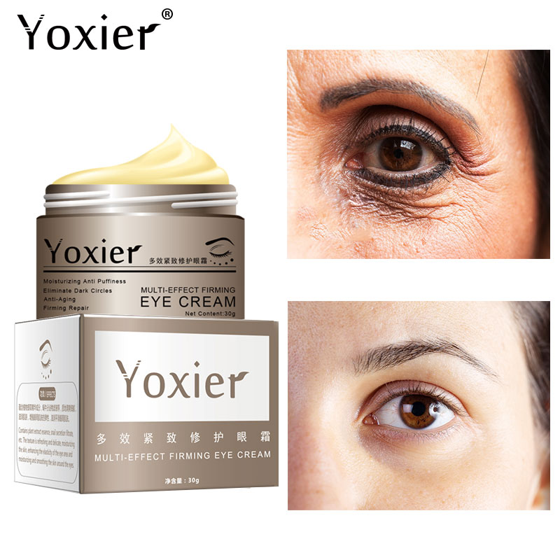 Snail Eye Cream Collagen Serum Anti-Wrinkle Anti-Age Remover Dark Circles Eye Care Against Puffiness And Bags Multi-Effect Firmi недорого