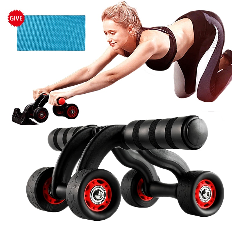 hanging endless rope training adjustable resistance core training fitness equipment gym home outdoor exercise abdominal aerobic Abdominal Wheels Abdominal Muscles Training Roller Ab Wheel with Mat Bodybuilding Fitness Gym Equipment Core Exercise At Home