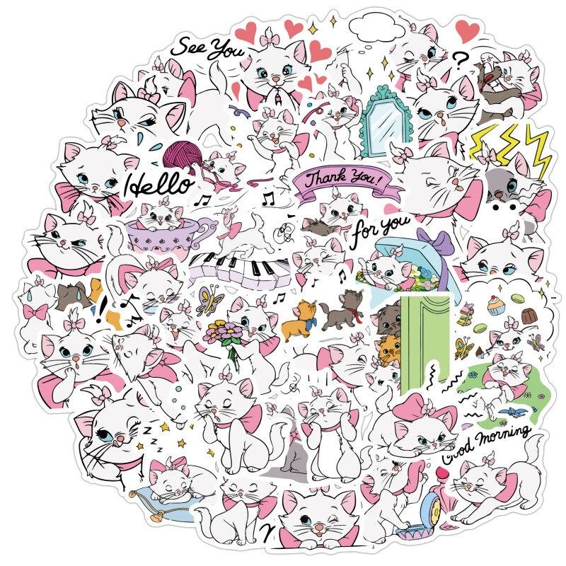 pegatinas-de-pvc-de-dibujos-animados-de-mary-cat-para-scrapbooking-bricolaje-diario-album-etiqueta-adhesiva