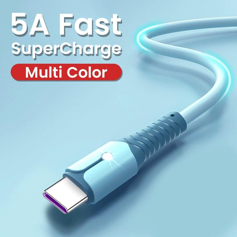 Cable USB tipo C de nailon trenzado Cable Micro USB de carga...