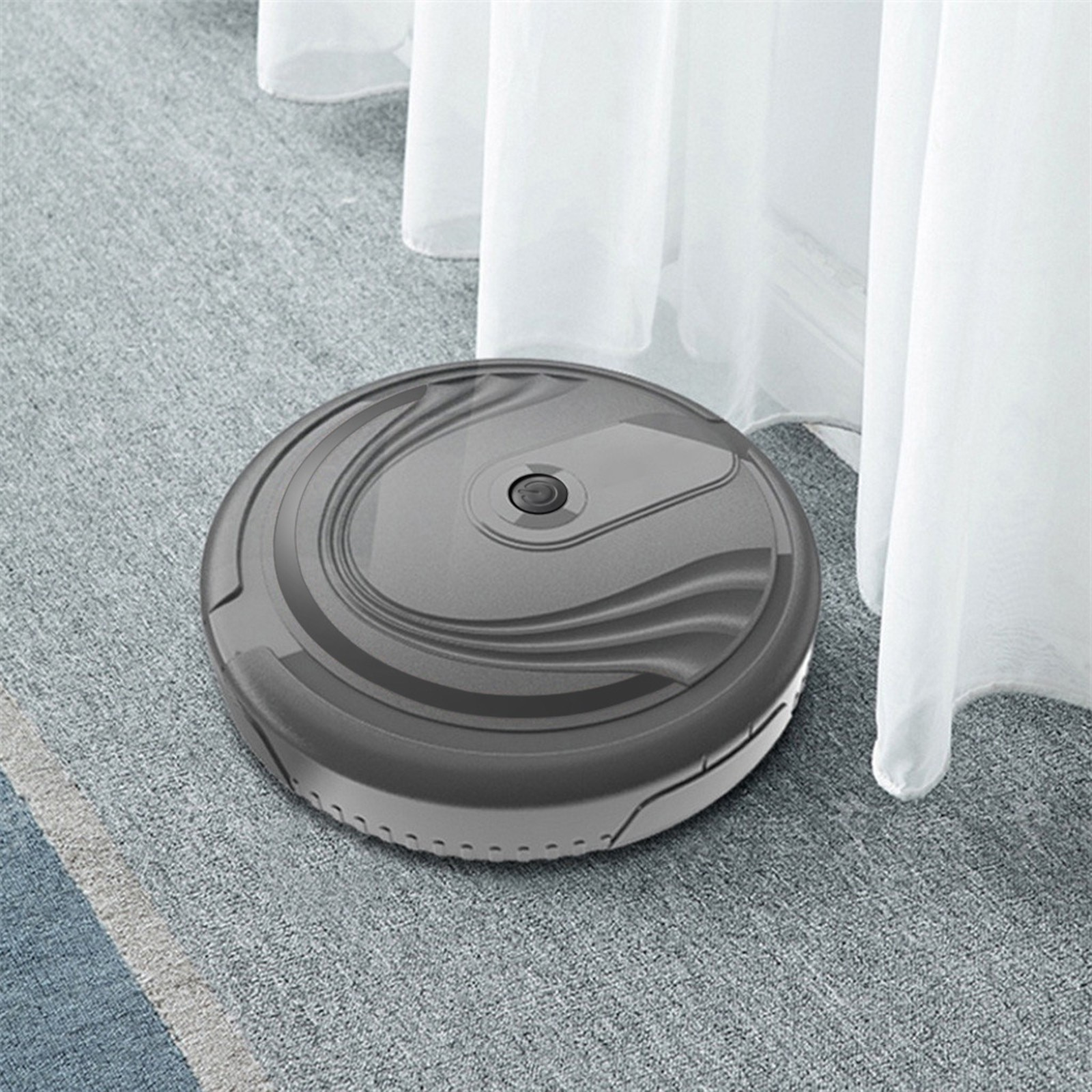 2021 New Household Items Hot Sale Smart Robot Vacuum Cleaner Auto Floor Cleaning Toy Sweeping Sweepe