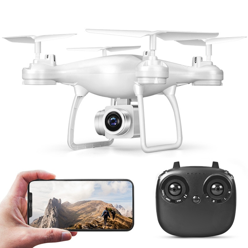 8S Drone with Camera RC Quadrocopter WIFI FPV Dron Aerial Photography Ultra-Long Life 360° Rollover