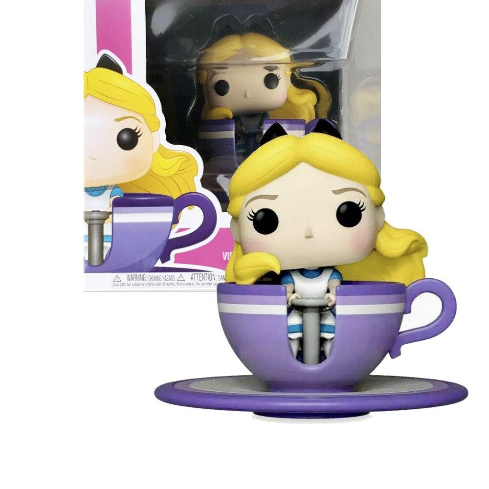 POP MAD TEA PARTY ALICE-figuras de acción de vinilo, modelos juguete de...