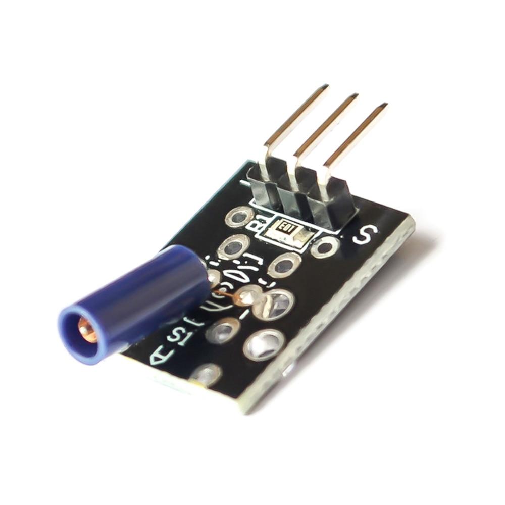 5PCS KY-002 Shock Vibration Sensor SW-18015P 3Pin Switch Sensor Module for Arduino Diy Kit