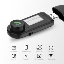 Wireless USB Bluetooth-compatible+EDR+LCD Display Adapter Dongle USB Audio Receiver Transmitter Driv