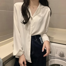 Spring And Autumn White Shirt Women's Design Shirt 2021 New Long Sleeve Top