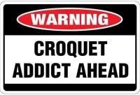 croquet addict ahead osha label vinyl decal sticker kit osha safety label compliance signs 8