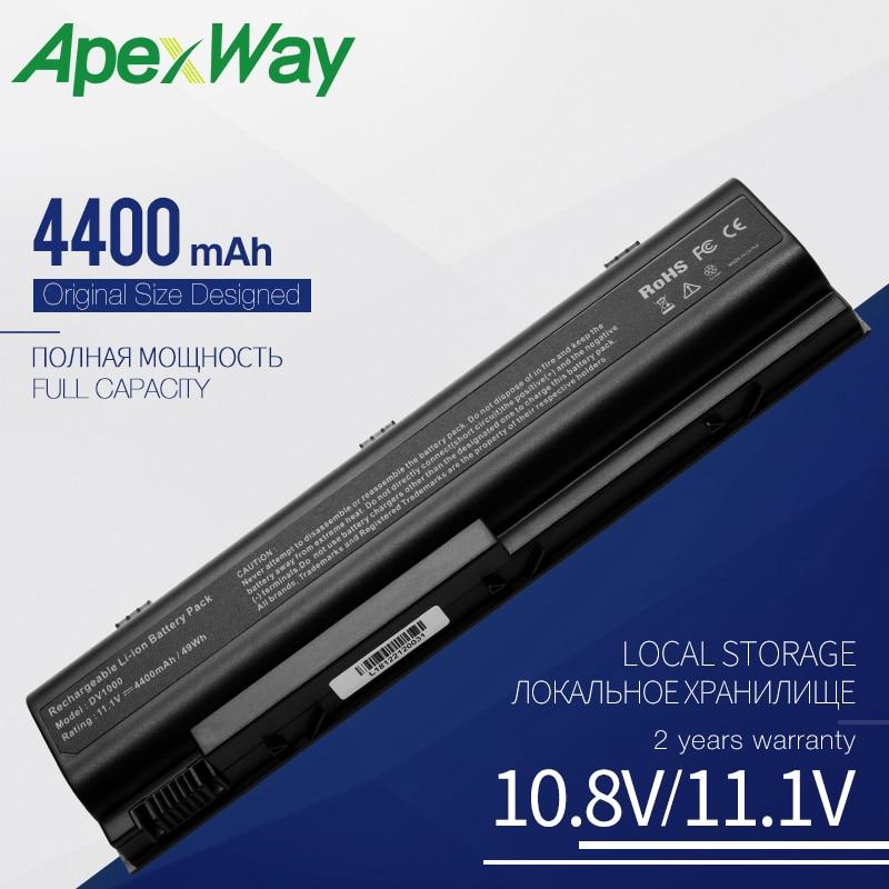 Apexway batería de ordenador portátil para HP Compaq Presario C300 C500 M2000...