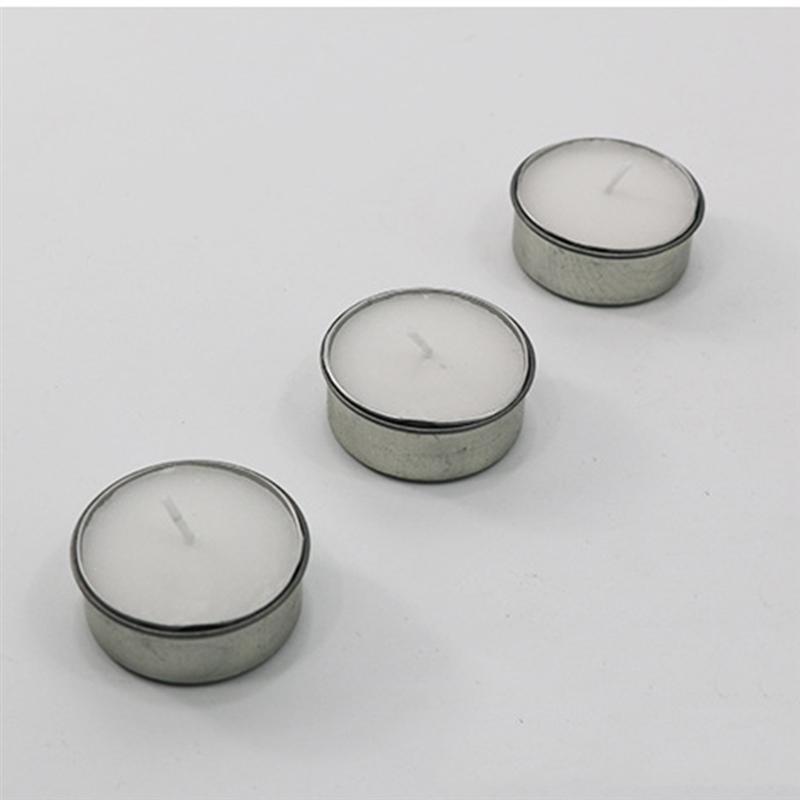 10 шт. пустые Чайные Свечи Банки формы банки контейнеры для косметических образцов для изготовления свечей своими руками