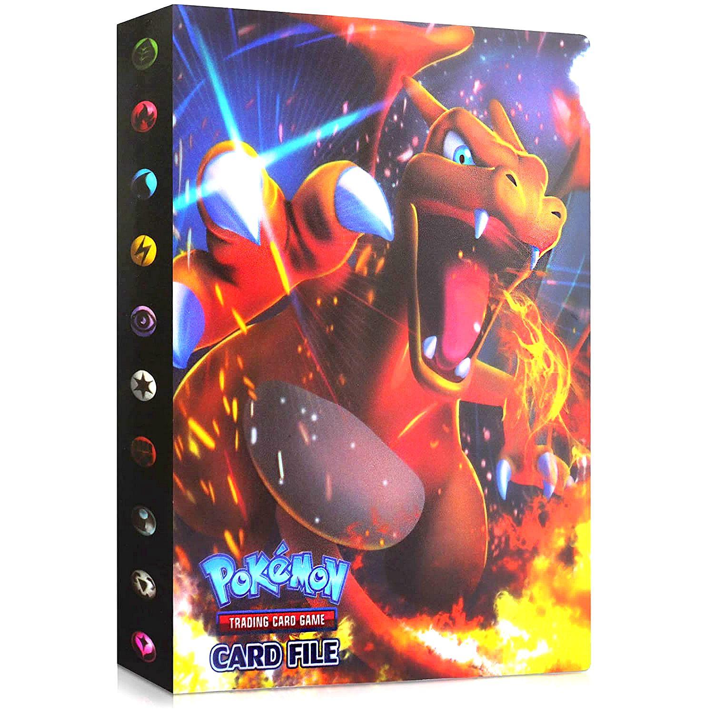 Álbum de tarjetas de Pokemon para niños, carpeta Carpeta de 240 uds,...