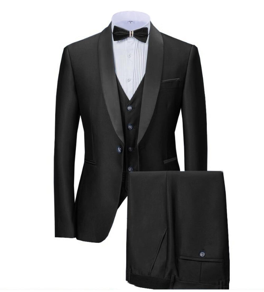 Esmoquin negro para hombre, esmoquin de marca Tuxe, Chaqueta de traje informal entallada, chaqueta para hombre, traje plus, talla S-5XL, traje personalizado