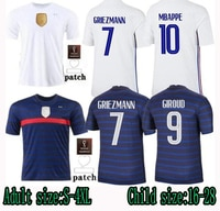 2021 uropean Cup France jersey MBAPE GRIEZMAN POBA KANTE football shirt mens Soccer jersey