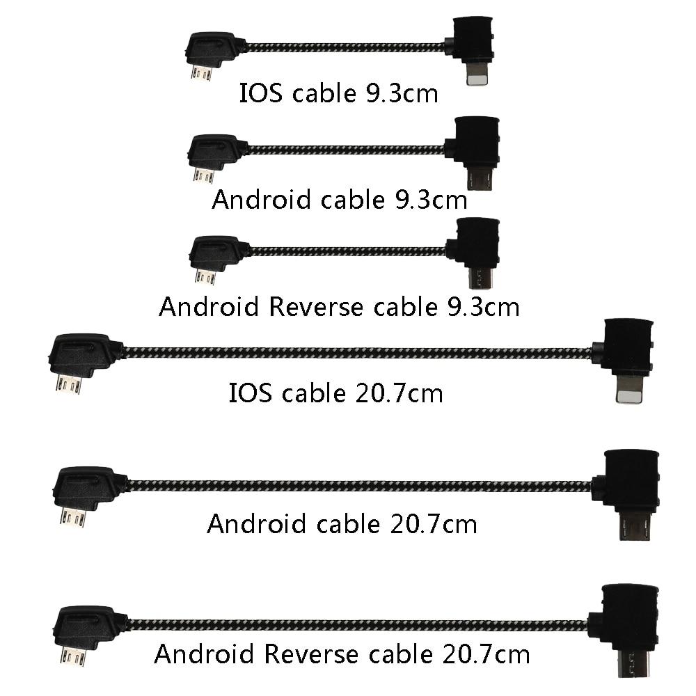 Контроллер OTG кабель для Планшета Телефона удлинитель Кабель для передачи данных разъем для DJI Mavic 2 Zoom Air Pro Mavic Mini Drone аксессуар