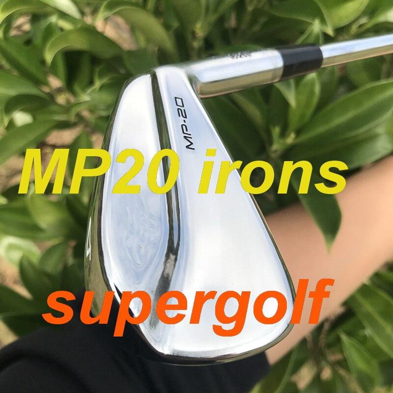2020, hierros de golf de alta calidad, juego de hierros MP20 forjados (6 7 8 9 P 3 4 5) Con KBS Tour 90, eje de acero rígido, 8 uds, palos de golf