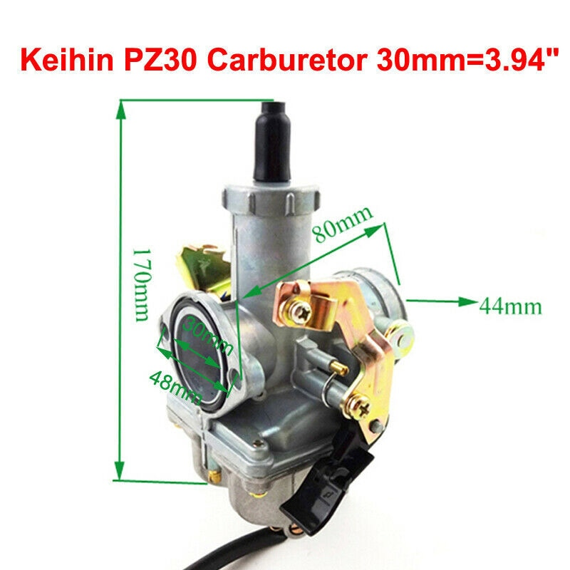 30mm PZ30 האצת משאבת קרבורטור עבור 200cc 250cc בור טרקטורונים רכב אביזרי קרבורטור קרבורטור קיט