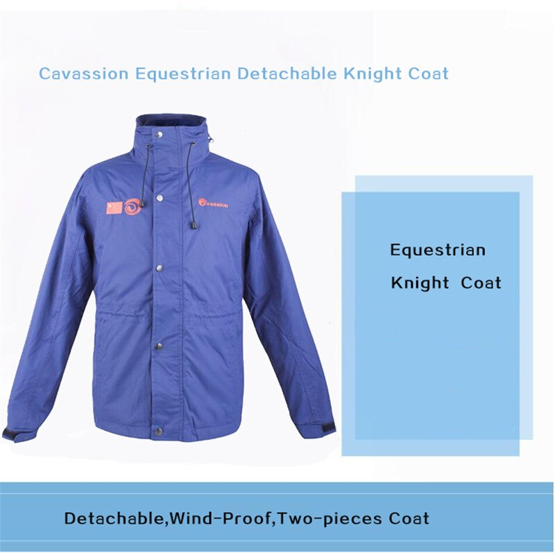 Cavassion Equestrian  Removable Two-Piece Horse Riding Coat when Riding Horses