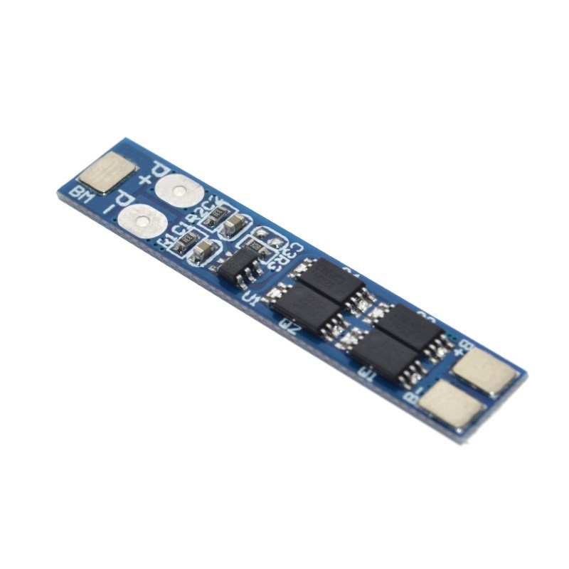 7 4v 2s 18650 li ion lithium battery charger protection board 4a 2 serial overcurrent overcharge overdischarge protection bms 2S 7.4V 8A Li-ion 18650 Lithium Battery Charger Protection Board 8.4V Overcurrent Overcharge / Overdischarge Protection