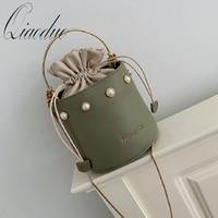 Qiaoduo Luxurious Handbags Bags for Women 2020 High Quality Leather Woman Bucket Bag Crossbody Bags High Capacity Shoulder Bag