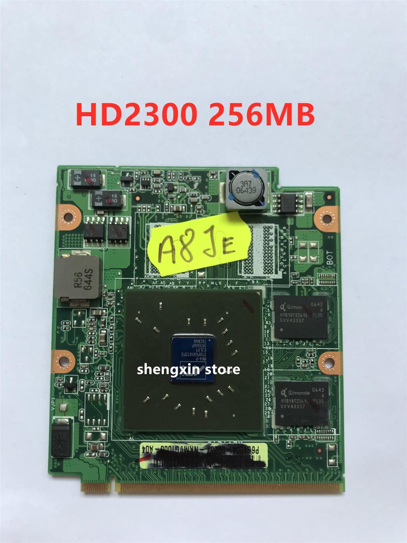 HD2300 HD 2300 de vídeo TARJETA DE DDR2 256MB para Lapotp ASUS A8JR A8JE A8J A8S A8JC A8JP A8JM