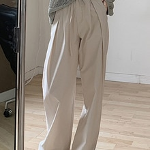 Summer Thin Pants High Waist Feeling Small Man Wide Leg Pants Women's Loose Straight Tube Floor Drag