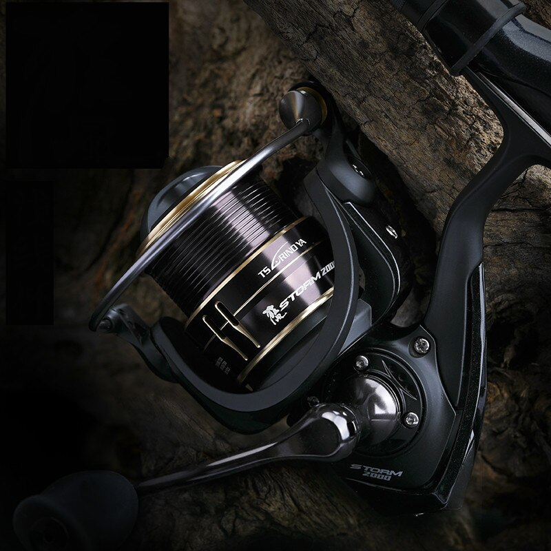 2000s 2500s 9BB Spinning Reel Metal Fishing Wheel 5.2:1 High Speed Gear Ratio Freshwater Distant Coil For Rock Wedkarstwo Vessel enlarge