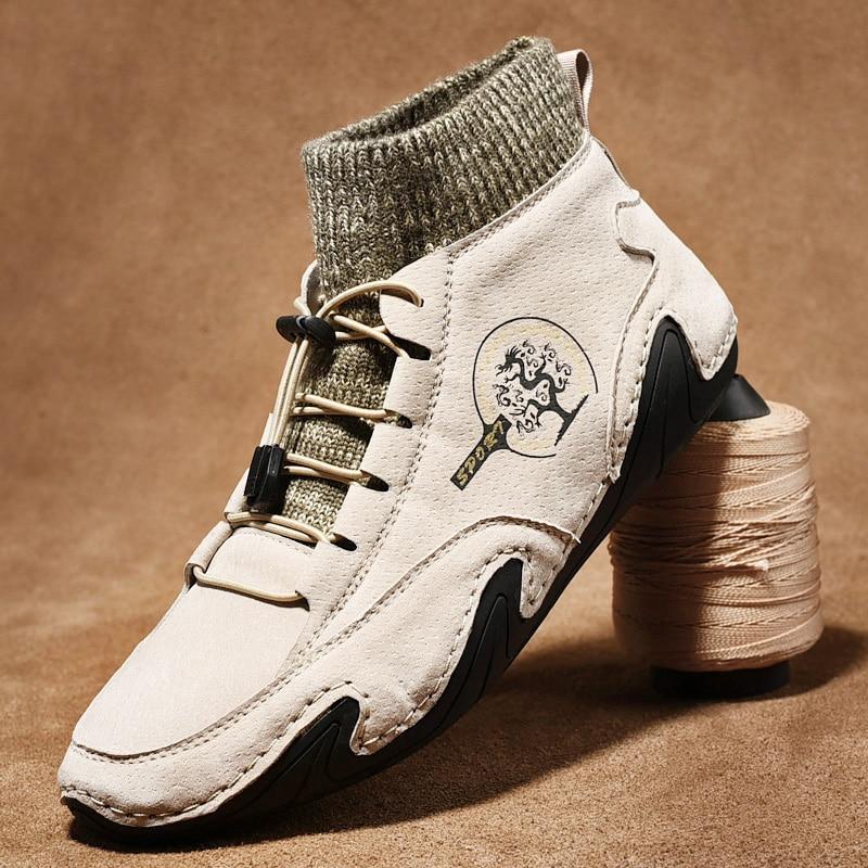 الرجال حذاء كاجوال في الهواء الطلق مريح المشي أحذية رياضية موضة حذاء فاخر حجم كبير 38-48