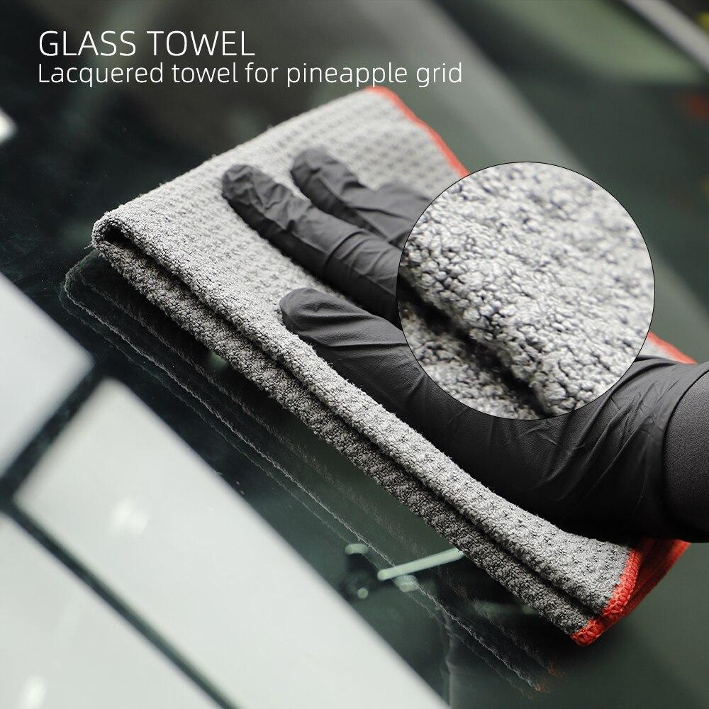 (Bulk Sale 3) 3Pcs SPTA Car Washing Towel Extra Soft Car Wash Microfiber Towel Car Care Cloth Auto Cleaning Drying Cloth
