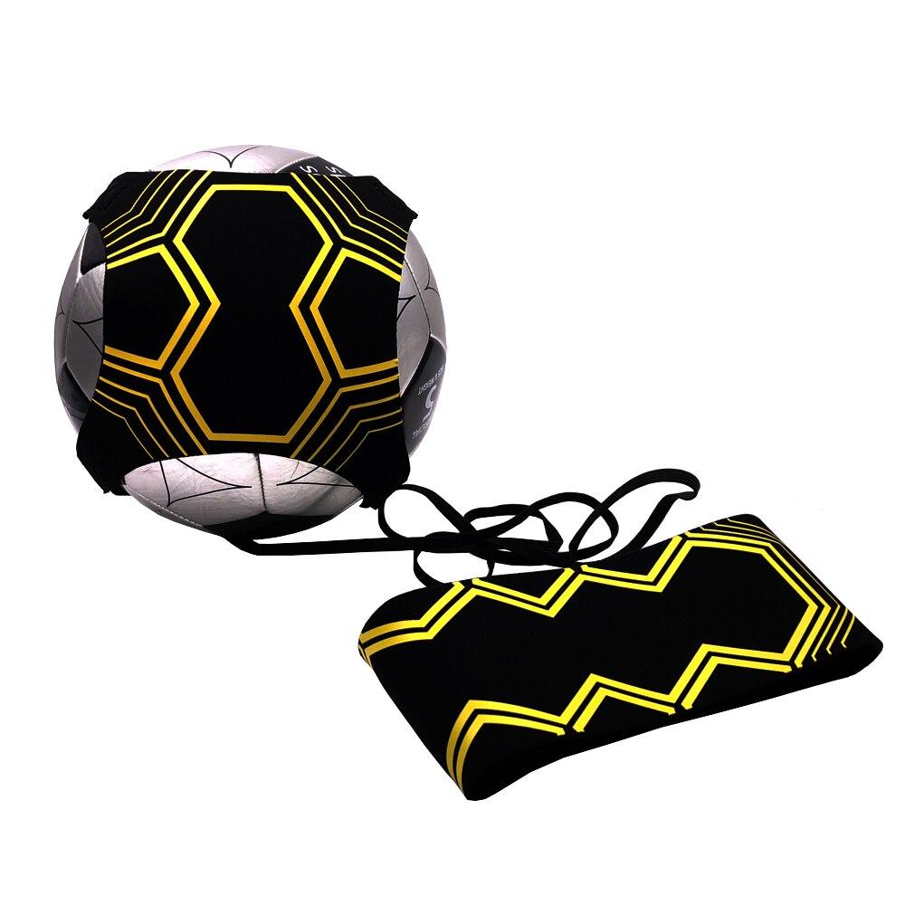 Neue Fußball Fußball Kick Trainer Fähigkeiten Praxis Übungen Ausbildung Taille Gürtel Ball Größe 3 4 5 Anfänger praxis dropshipping