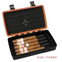 vintage kit cigar box set luxury cutting travel smoking humidor box smoking tools sigaretten doosje cigar scissors ea60xj