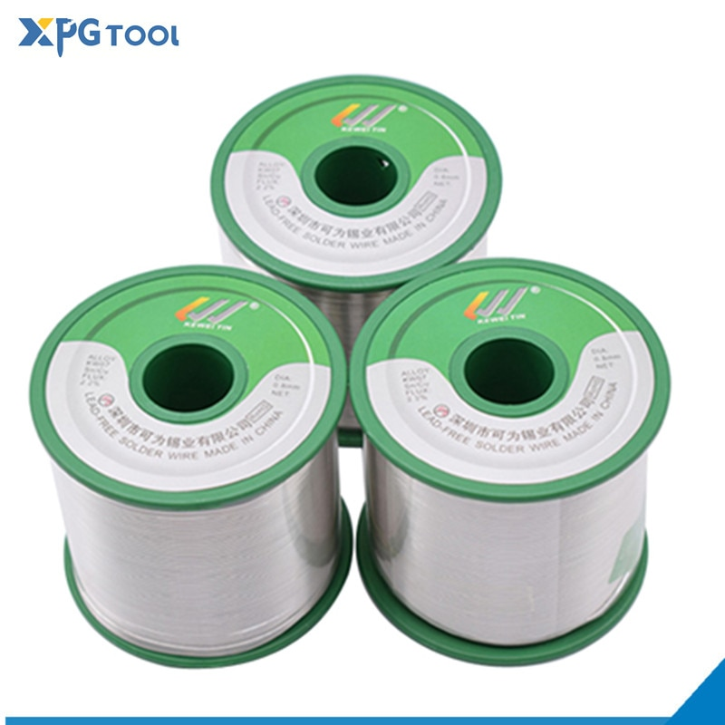 Low Melting Point Lead-free Soldering Wire Welding BGA Repair Tools Rosin Core Solder Tin 500g/800g/1000g 0.6/0.8/1.0/1.2mm