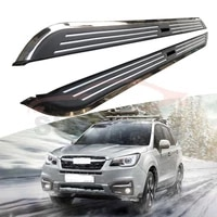 side step fits for subaru forester 2013 2018 running board nerf bar 2pcs left right aluminium side step side pedal