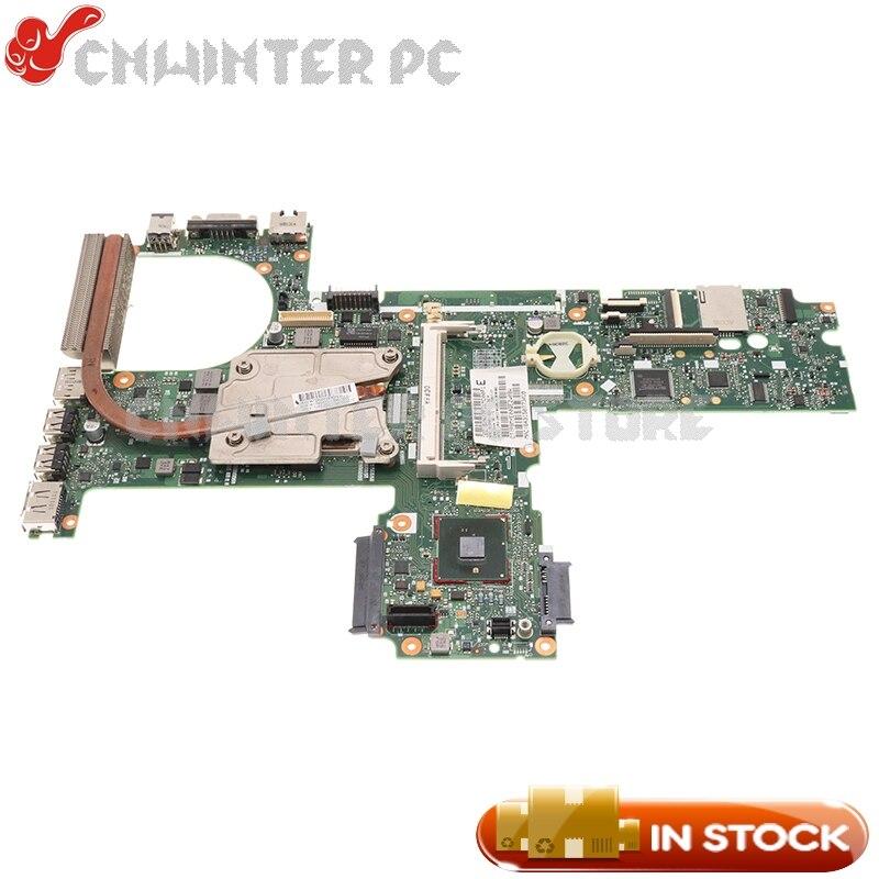 NOKOTION 613294-001 613295-001 for HP Probook 6450B 6550B لوحة أم للكمبيوتر المحمول تناسب 613397-001 6455B 6555B وحدة المعالجة المركزية الحرة + غرفة التبريد