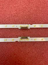 2 pièces LED Bande De Rétro-Éclairage pour 49NU7100 UE49NU7300 UE49NU7170 UE49NU7140U UE49NU7100K BN61-15483A MET49BL Y18 BN96-45953B 45953A
