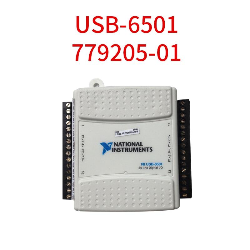 USB-6501 779205-01 Data Acquisition Card DAQ DIO USB digital I/O For National Instruments Original