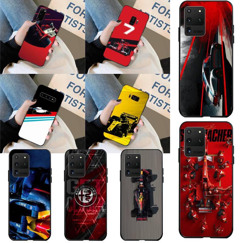 Funda de teléfono CUTEWANAN para Fórmula 1 Racing F1 de alta calidad para Samsung S20 plus Ultra S7 S6 edge S8 S9 plus S10 5G