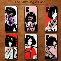 girl vinne art phone cases for samsung a91 01 10s 11 20 21 31 40 50 70 71 80 a2 core a10