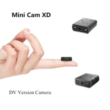 1080P HD Mini Camera XD IR-CUTsmallest  Camcorder Infrared Night Vision Micro Cam Motion Detection D