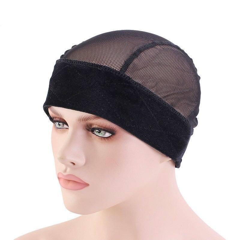 Nuevas diademas, accesorios para peluca, gorra de malla para peluca ajustable elástica, Kit para hacer peluca, combinación de red y diadema